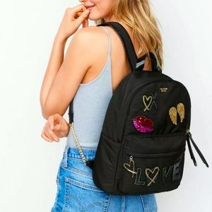 Victoria's Secret Runway Patch City Backpack